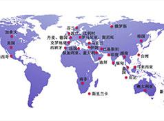 发泡胶厂家销售产品范围地图